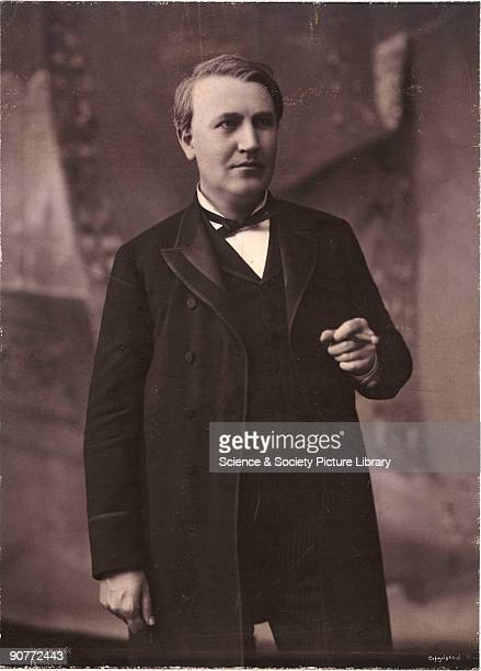 Photograph of Thomas Edison Edison was a prolific American inventor who registered over 1000 patents many of which were related to the development of...