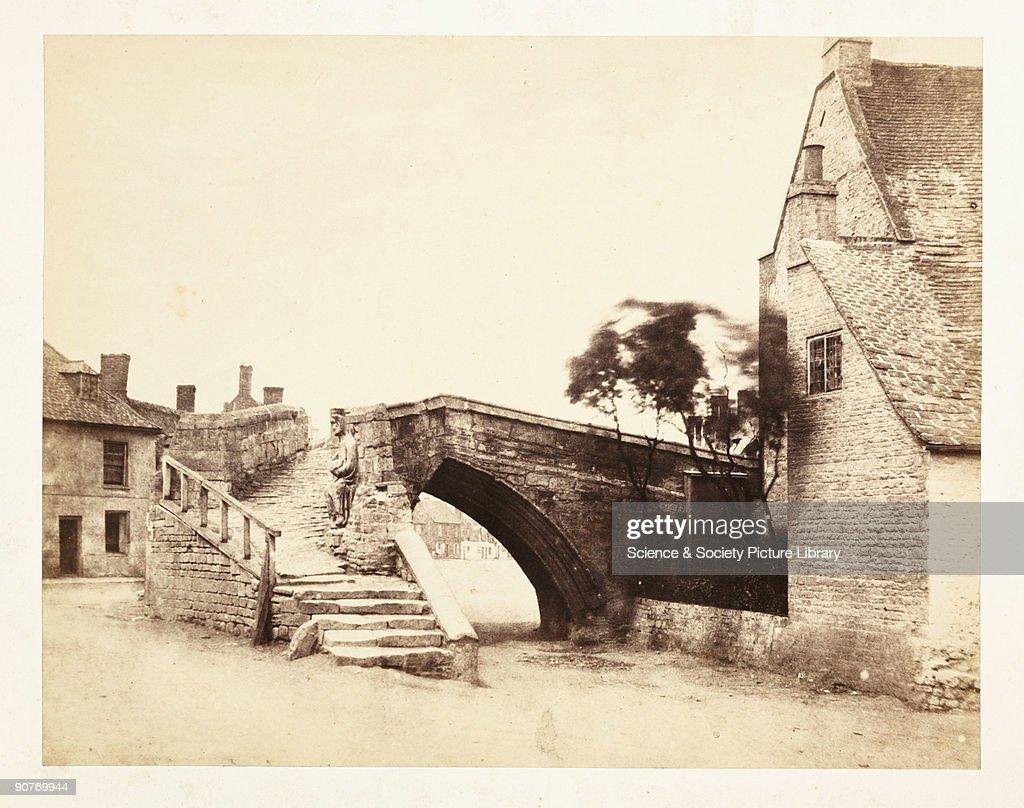 Crowland: The Triangular Bridge, 1859. : News Photo