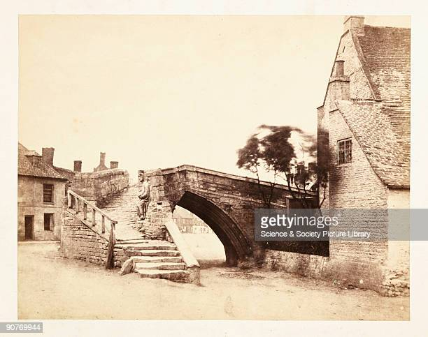 A photograph of Trinity Bridge at Crowland by Samuel Smith on 23 June1859 The triangular bridge built in the 14th century was the point at which...