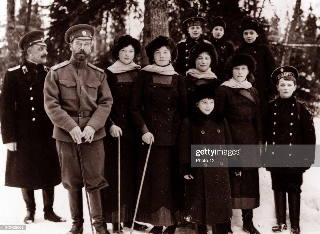 Photograph of Tsar Nicholas II from the Russian Royal Family. : News Photo