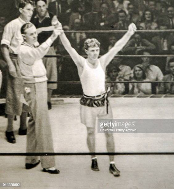 Photograph of Werner Spannagel from Germany at the 1932 Olympic games Werner was eliminated in the quarterfinals of the flyweight class