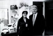 Photograph showing former white house intern monica lewinsky meeting picture id905572?s=170x170