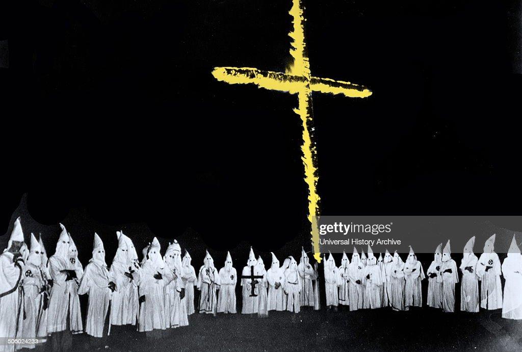Ku Klux Klan Show. : News Photo
