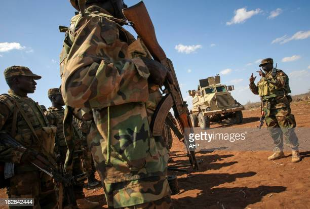 CREDIT 'AFP PHOTO / AUUN IST PHOTO / STUART PRICE' NO A photograph taken and released by the African UnionUnited Nations Information Support team on...