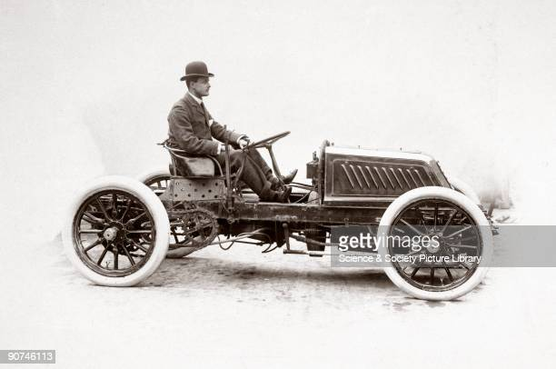 Photograph taken from an album of images collected by Charles Stewart Rolls , English motorist, motor car manufacturer and aviator. Rolls won many...