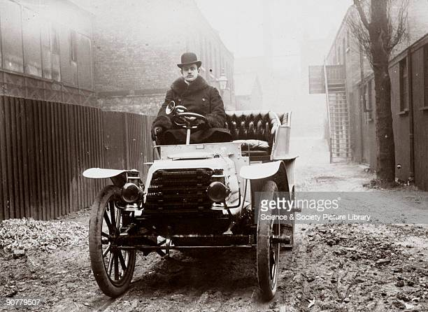 Photograph taken from an album of images compiled by English motorist, motor car manufacturer and aviator Charles Stewart Rolls . Rolls was a keen...