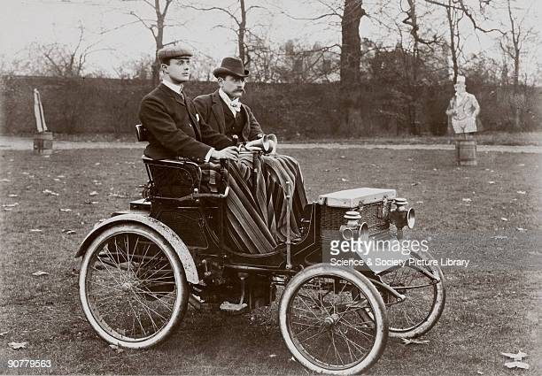 Photograph taken from an album of prints compiled by Charles Stewart Rolls , English motorist, motor car manufacturer and aviator. Rolls was a keen...
