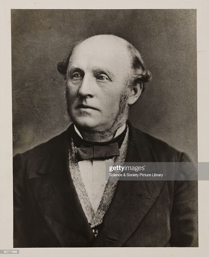 Alexander Parkes, English inventor and chemist, 1875. : News Photo