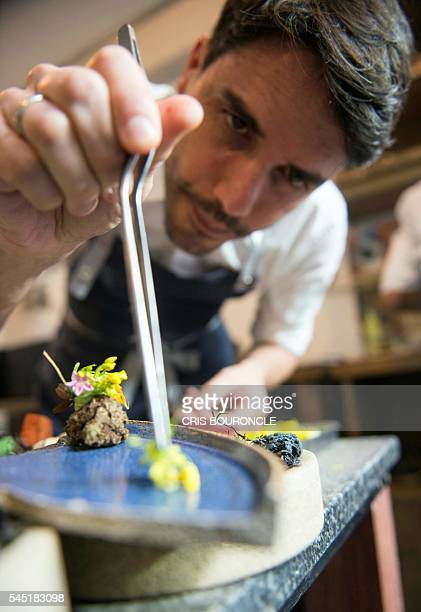 Photograph taken on June 24 of Peruvian chef Virgilio Martinez who directs the Central restaurant in Lima, Peru. In the 2016 ranking of The 50 Best,...