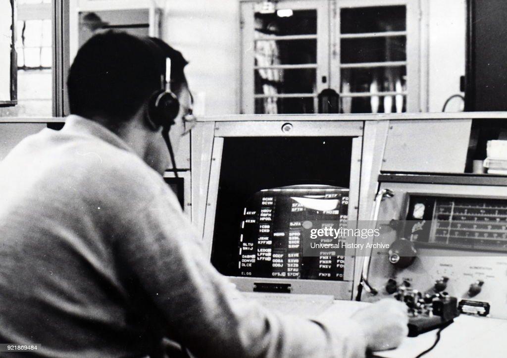 A landlocked radio-station. : News Photo