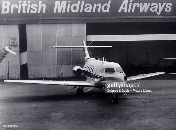 Photograph With a crew of two and accommodation for six passengers the HS 125 became a popular choice with many companies operating their own fleets...