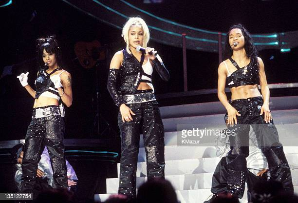 TLC photographed during Christina Aguilera and TLC Live at Madison Square Garden Lisa Left Eye Lopes was killed in a car crash in the Honduras April...