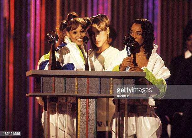 TLC photographed during the 1995 Billboard Awards Lisa Left Eye Lopes was killed in a car crash in the Honduras April 25 2002