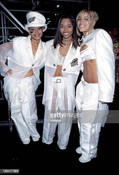 TLC photographed during the 38th Grammy AwardsLisa Left Eye Lopes was killed in a car crash in the Honduras April 25 2002