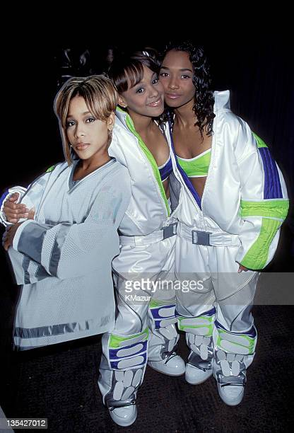 TLC photographed during the Billboard Awards Lisa Left Eye Lopes was killed in a car crash in the Honduras April 25 2002