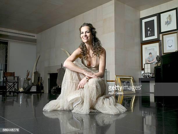 Photographed in the private apartment of Giorgio Armani