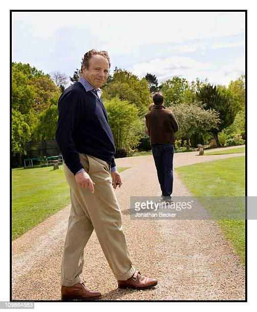 Photographed Jonathan Becker is photographed at Princess MarieChantal's home 'Beale House' for Vanity Fair Spain on May 23 2009 in West Sussex...