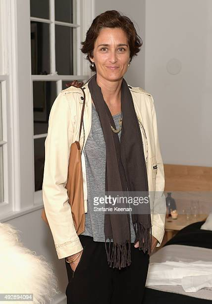 Photographer Alexandra Hedison attends The Apartment by The Line LA opening on October 15 2015 in Los Angeles California