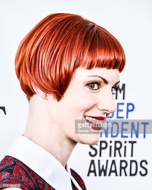 Photographer Alexis Mixter attends the 2016 Film Independent Spirit Awards on February 27 2016 in Santa Monica California