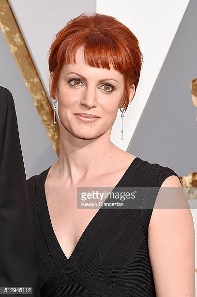 Photographer Alexis Mixter attends the 88th Annual Academy Awards at Hollywood Highland Center on February 28 2016 in Hollywood California
