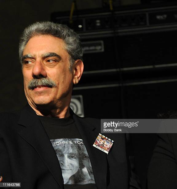 Photographer Allan Tannenbaum attends the 35th Anniversary of The Fest For Beatles Fans celebration at the Crowne Plaza Meadowlands on March 27 2009...