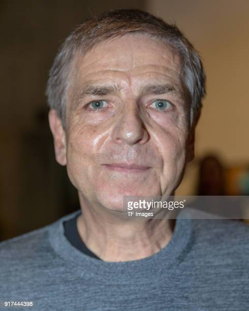 Photographer and artist Andreas Gursky attends the press conference in the reopened Hayward Gallery on January 24 2018 in London England