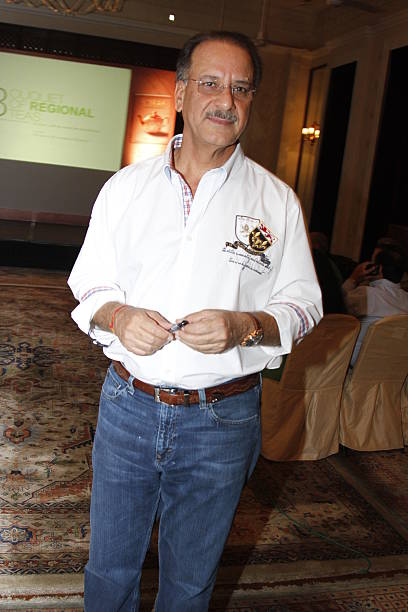 Photographer and author Rajan Kapoor at the launch of his book Chai The Experience of Indian Tea on April 21 2014 in New Delhi India Authored by...