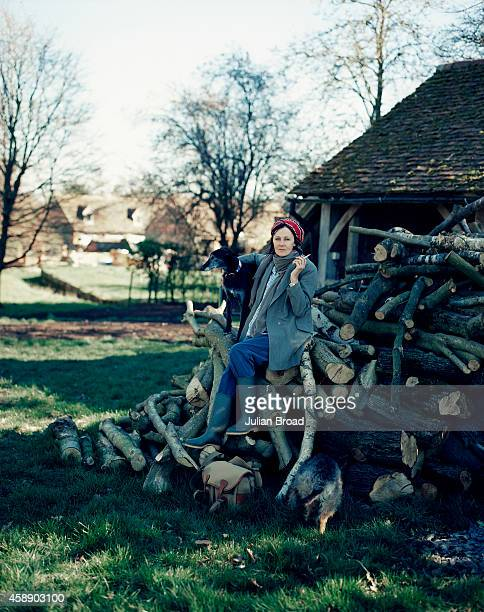 Photographer and former model Lucy Birley is photographed for Town Country Magazine on March 17 2014 in Shropshire England