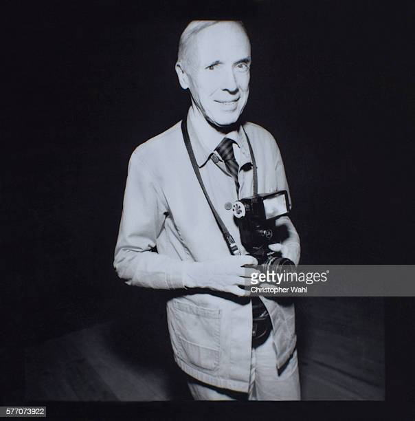 Photographer and journalist Bill Cunningham is photographed for Self Assignment on October 1 1997 in New York City