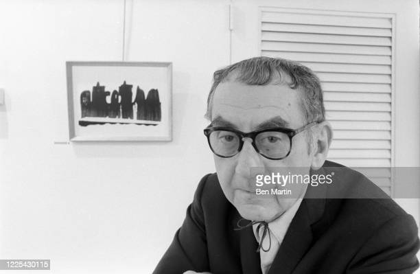 Photographer and surrealist painter Man Ray , May 1963.