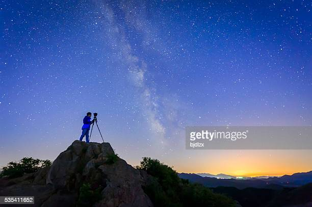 Photographer and the Universe