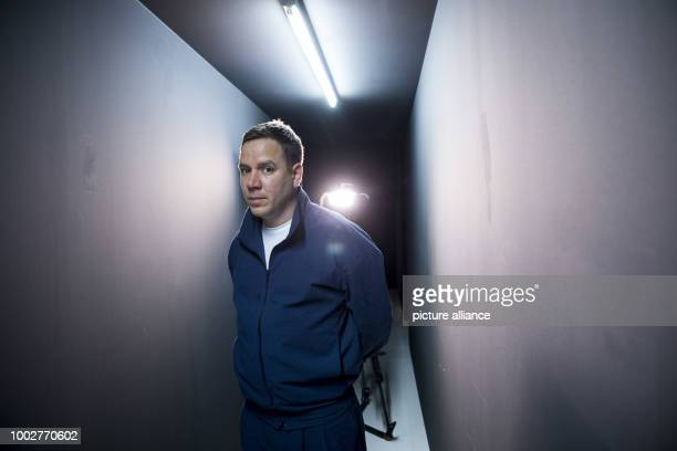 Photographer Andreas Muehe pictured after an interview at the Deichtorhallen in Hamburg Germany 18 May 2017 The Haus der Photographie at the...