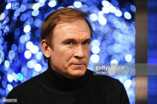 Photographer Andrew Durham attends the promotional event for 'The Beguiled' at Tsutaya Roppongi bookstore on January 18 2018 in Tokyo Japan