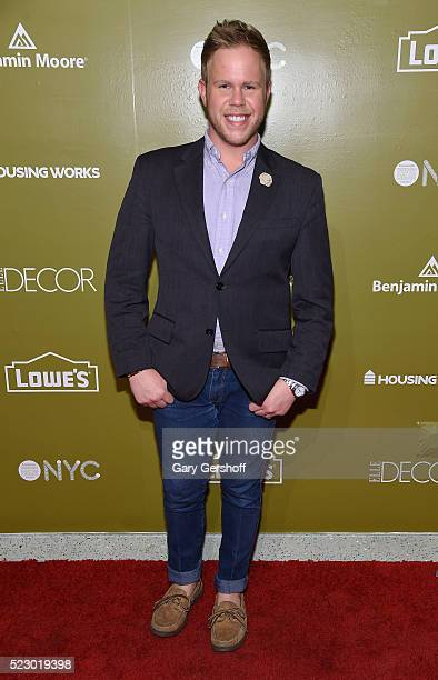 Photographer Andrew Werner attends Housing Works Design On A Dime Opening Night Reception at Metropolitan Pavilion on April 21 2016 in New York City