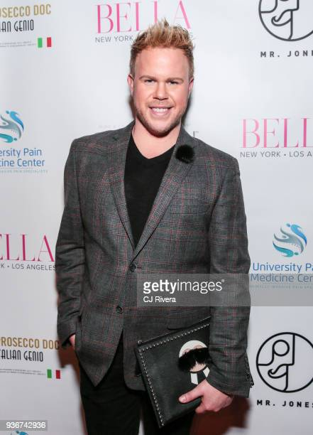 Photographer Andrew Werner attends the Bella New York's Influencer Cover Party at Mr Jones on March 22 2018 in New York City