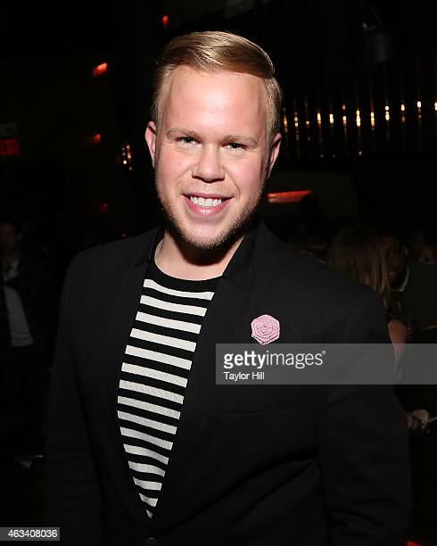 Photographer Andrew Werner attends the Charlotte Ronson Fall 2015 After Party MercedesBenz Fashion Week Fall 2015 at Haus on February 13 2015 in New...