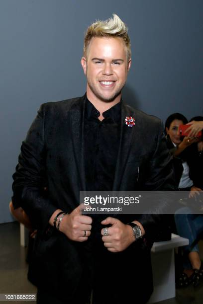 Photographer Andrew Werner attends the Chiara Boni La Petite Robe front Row during New York Fashion Week The Shows at Gallery II at Spring Studios on...