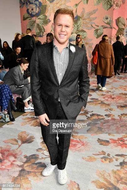 Photographer Andrew Werner attends the Zimmermann fashion show during New York Fashion Week The Shows at Gallery I at Spring Studios on February 12...