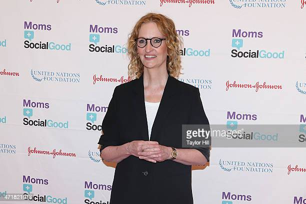 Photographer Anne Geddes attends the MomsSocial Good Global Moms' Challenge at Times Center on May 1 2015 in New York City