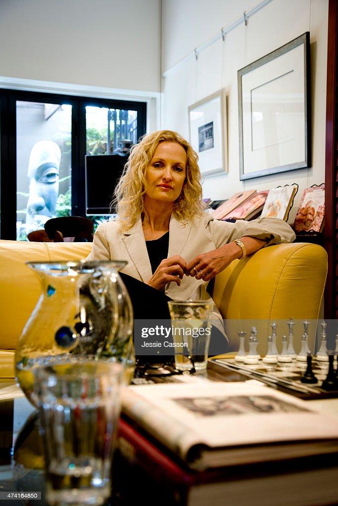 Anne Geddes Portrait Session : News Photo