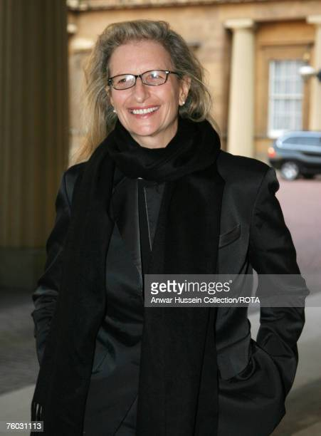 Photographer Annie Leibovitz attends a reception for Americans based in Britain hosted by HRH Queen Elizabeth lland Prince Philip, Duke of Edinburgh...