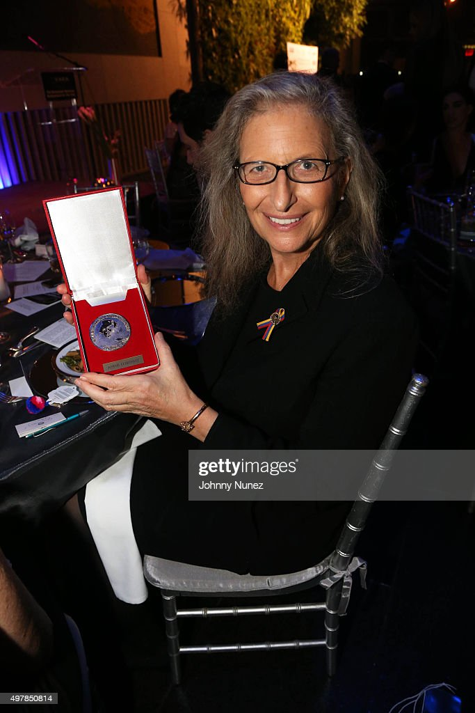 Photographer Annie Leibovitz is honored at VAEA's Annual Benefit Gala 2015 at David Rubenstein Atrium on November 18, 2015, in New York City.