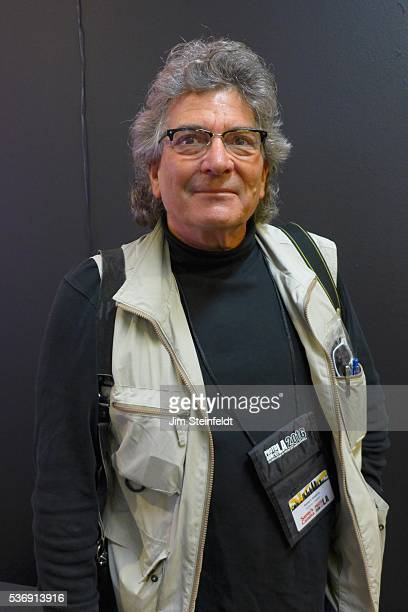 Photographer Anthony Friedkin poses for a portrait at PhotoCon in Los Angeles California on May 21 2016