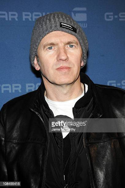 Photographer Anton Corbijn attends the GStar Fall 2009 Fashion Show at the Hammerstein Ballroom on February 17 2009 in New York City