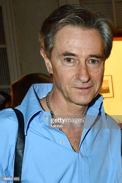 Photographer Aramy Machry attends 'Les Racines De La Ville' Aramy Machry' s Photo Exhibition Preview At 'Le Plac Art' Gallery on April 17 2013 in...