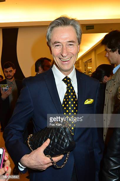 Photographer Aramy Machry attends the 'Le Bresil Rive Gauche' Exhibition At Le Bon Marche on April 22 2013 in Paris France