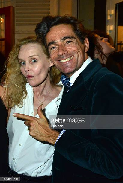 Photographer Aramy Machry Victoria Fernandez Sibylle de Saint Phalle and Vincent Darre attend 'Les Racines De La Ville' Aramy Machry' s Photo...