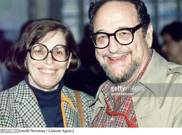 Photographer Arnold Newman with his wife Augusta c1998 in New York City