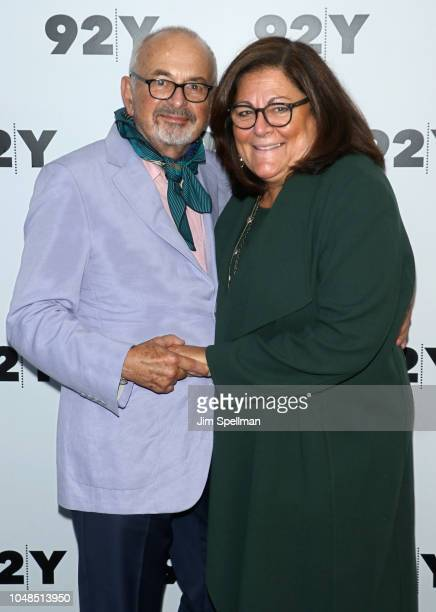 Photographer Arthur Elgort and fashion icon Fern Mallis in conversation at 92nd Street Y on October 9 2018 in New York City