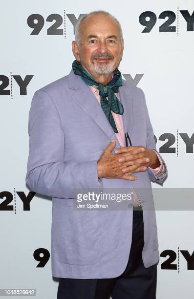 Photographer Arthur Elgort in conversation with Fern Mallis at the 92nd Street Y on October 9 2018 in New York City